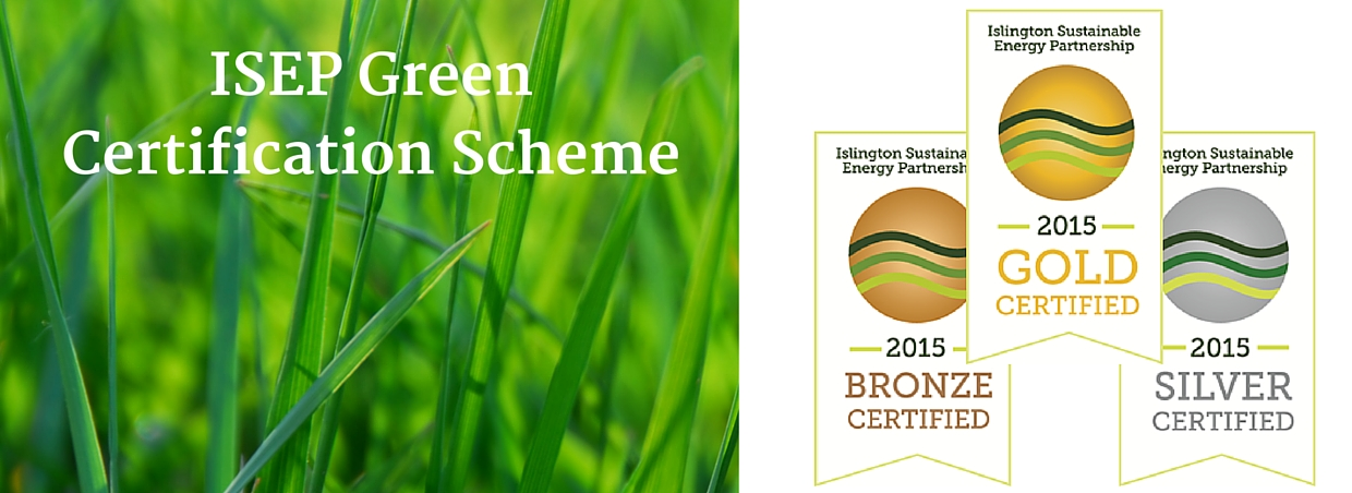 Islington Sustainable Energy Partnership green certification scheme